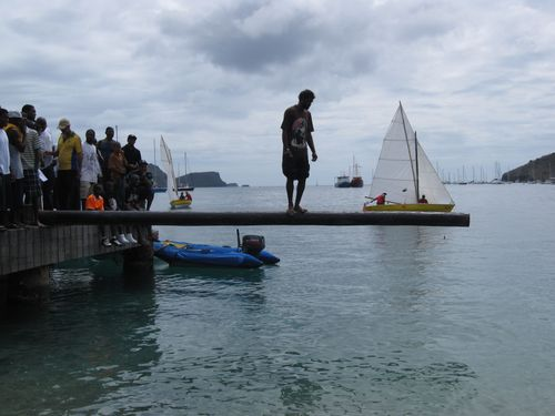 More greasy pole action