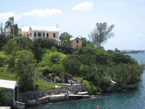 KZJ's little pad in Bermuda....