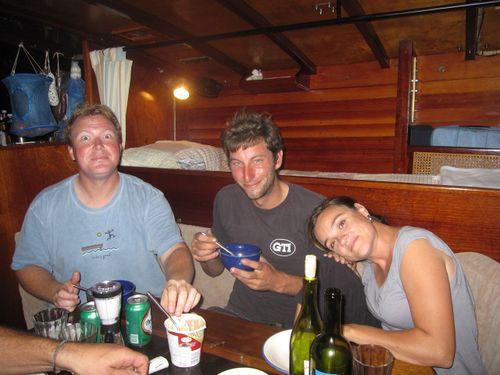 Fat Pat (no really!) Joe and Sophie