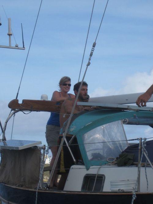 Intrepid?  Shackles Crew Joe and Kate
